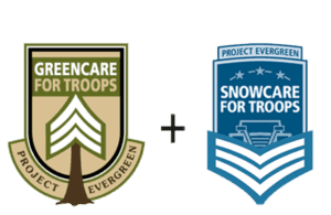 Giving back to our troops with free residential landscape and snow removal services.