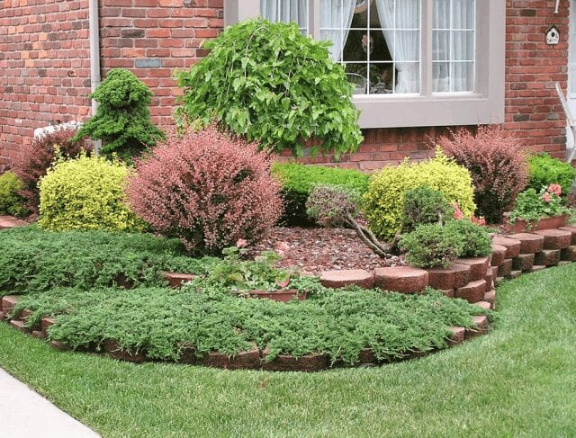 A property that regularly receives residential landscape maintenance services.