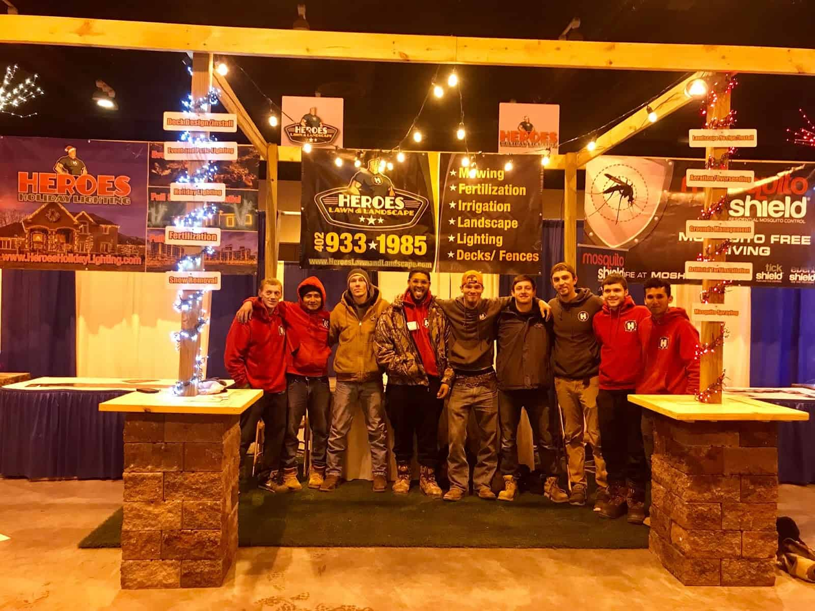 Landscaping Heroes in Nebraska that you can count on.